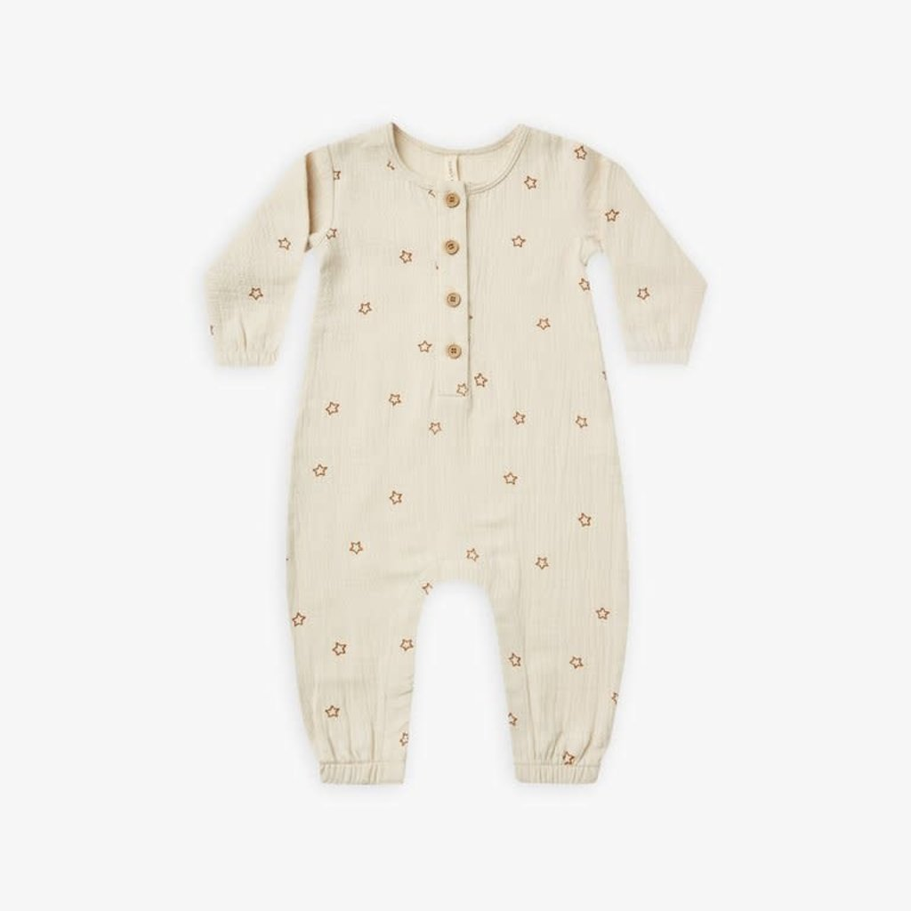 Quincy Mae Quincy Mae   Woven Jumpsuit Stars
