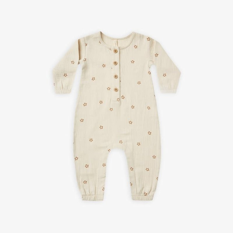 Quincy Mae Quincy Mae | Woven Jumpsuit Stars