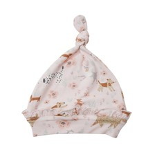 Angel Dear Angel Dear   Floral Pups Knotted Hat 0-3 Mos