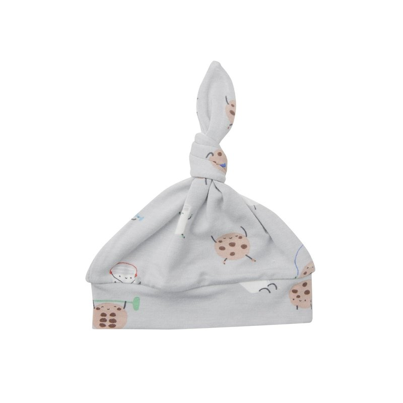 Angel Dear Angel Dear | Cookies and Milk Knotted Hat 0-3 Mos