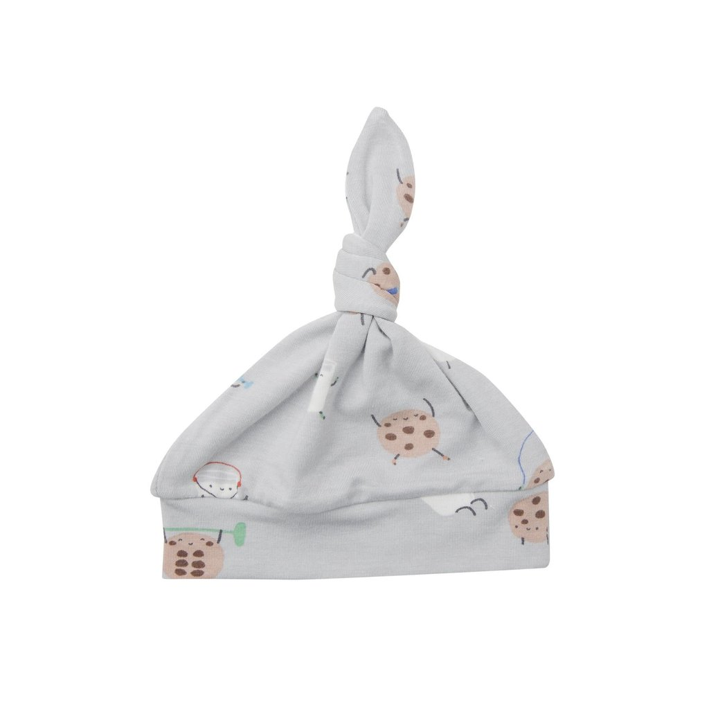 Angel Dear Angel Dear   Cookies and Milk Knotted Hat 0-3 Mos