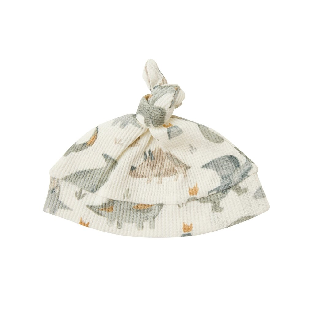 Angel Dear Copy of Angel Dear | Cookies and Milk Knotted Hat 0-3 Mos