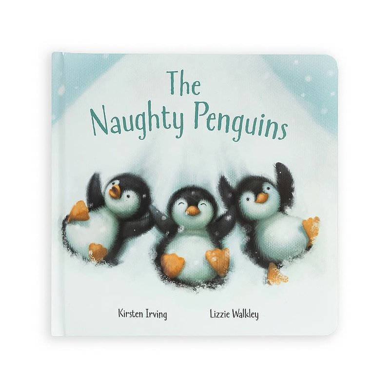 JellyCat Jellycat | The Naughty Penguins Book