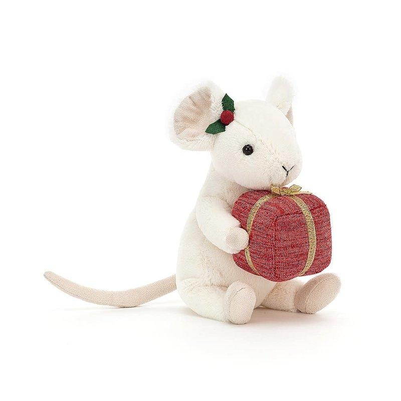 JellyCat Jellycat | Merry Mouse Present