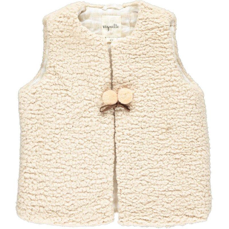 Vignette Vignette | Baby Mae Vest Cream