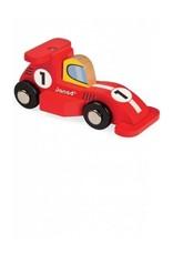 Janod Formula 1 Wooden Toy Racecar