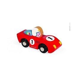 Janod Wooden Speedster Toy Racecar