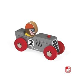 Janod Wooden Retro Motor Toy Racear