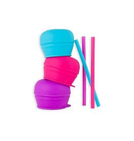 Tomy/Boon Snug Straw Lid Set
