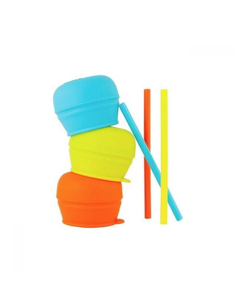 Tomy/Boon Boon Snug Straw Lid Set