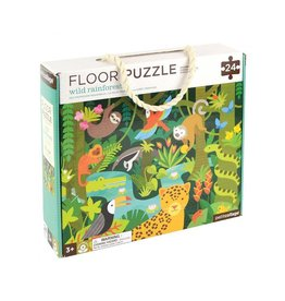 Petit Collage Petit Collage Floor Puzzle Wild Rainforest