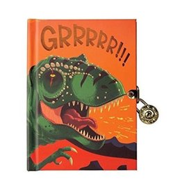 Dinosaur Locked Diary by muduppy