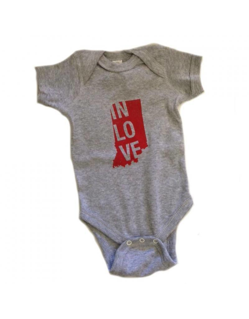 """Sunday Afternoon Housewife:  """"In Love"""" Onesie"""