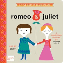 Gibbs Smith BabyLit: Romeo & Juliet