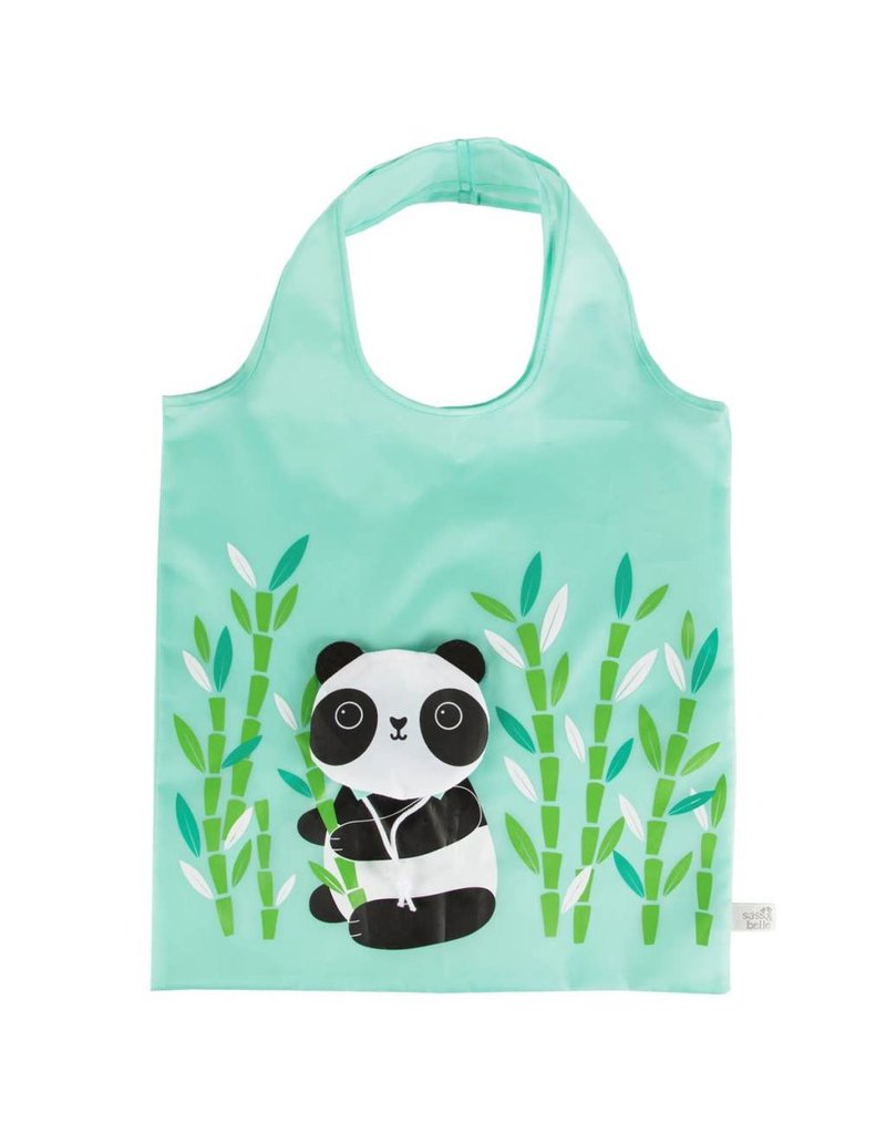 Sass & Belle Sass & Belle:  Foldable Shopping Bag Panda