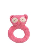 Angel Dear Angel Dear Ring Rattle | Pink Owl