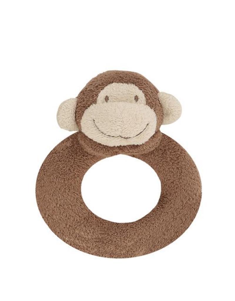 Angel Dear Angel Dear Ring Rattle: Brown Monkey