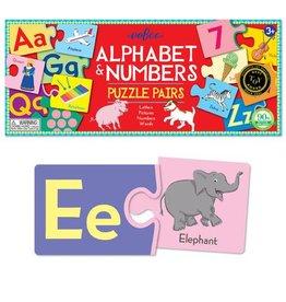 eeBoo eeboo | Alphabet & Numbers Puzzle Pairs