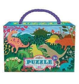 eeBoo Dinosaur Meadow 20pc Puzzle