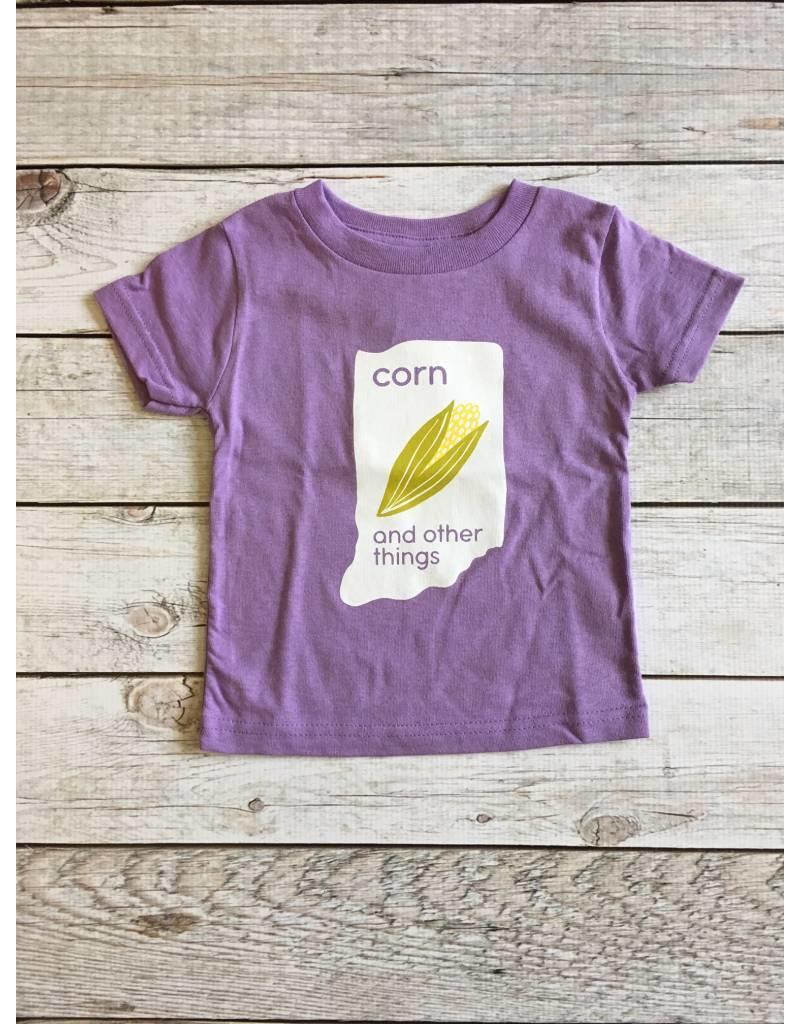 Kitten & Acorn Kitten & Acorn:  Corn & Other Things Tee