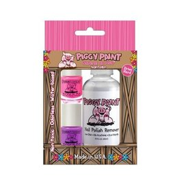 Piggy Paint Two Polish & Remover Set by Piggy Paint