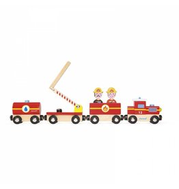 Janod Janod Story Train:  Firefighters