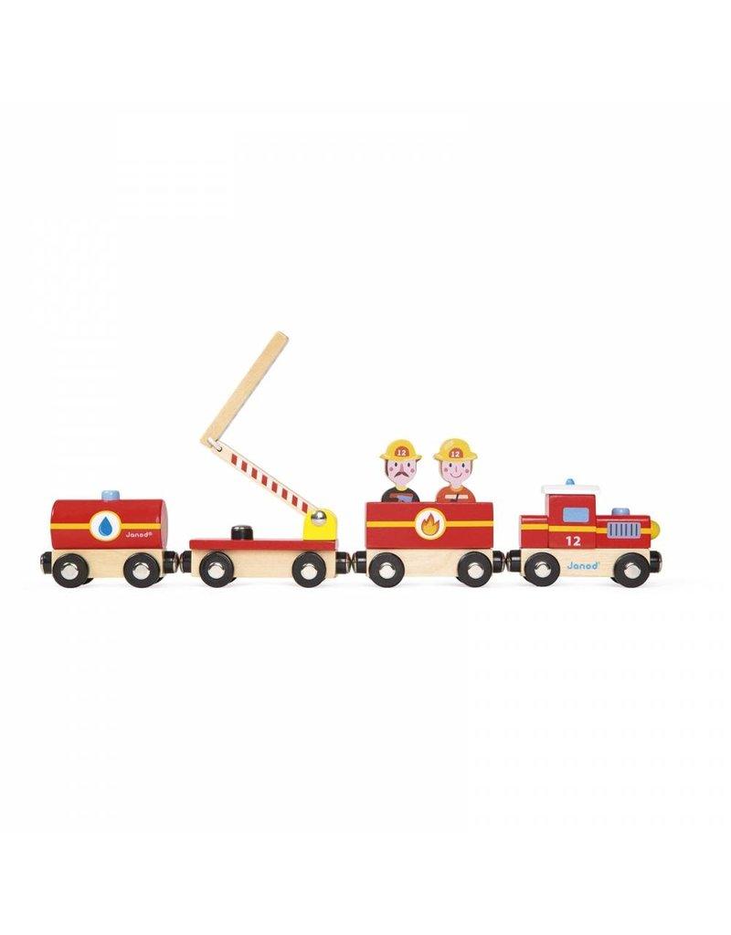 Janod Janod Story Train:  Firefighters