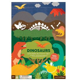 Petit Collage Petit Collage Sticker Activity Set:  Dinosaur