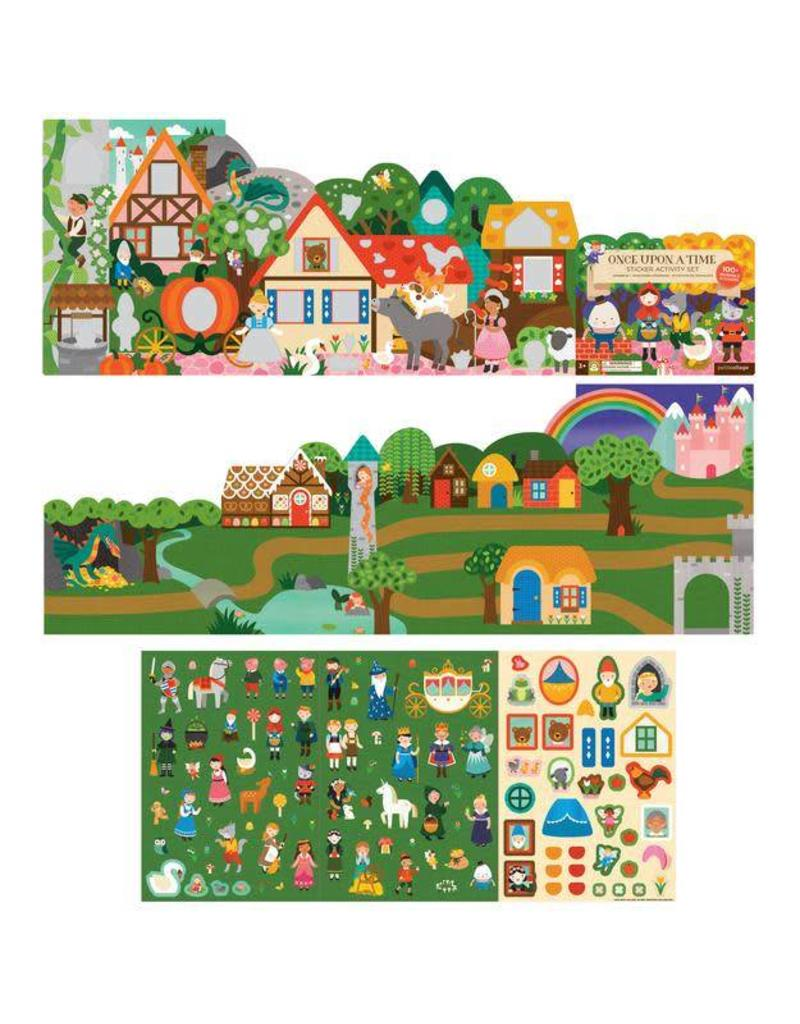 Petit Collage Petit Collage Sticker Activity Set: Once Upon a Time