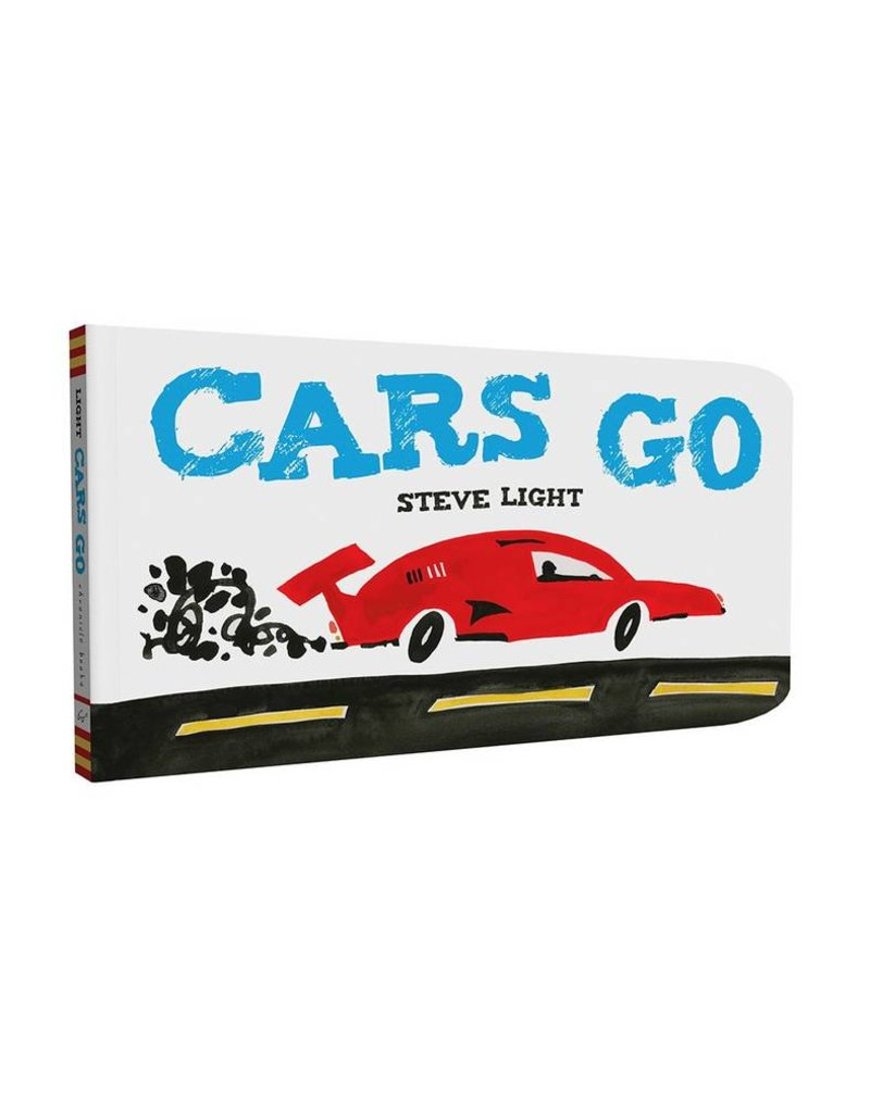 Cars Go Board Book