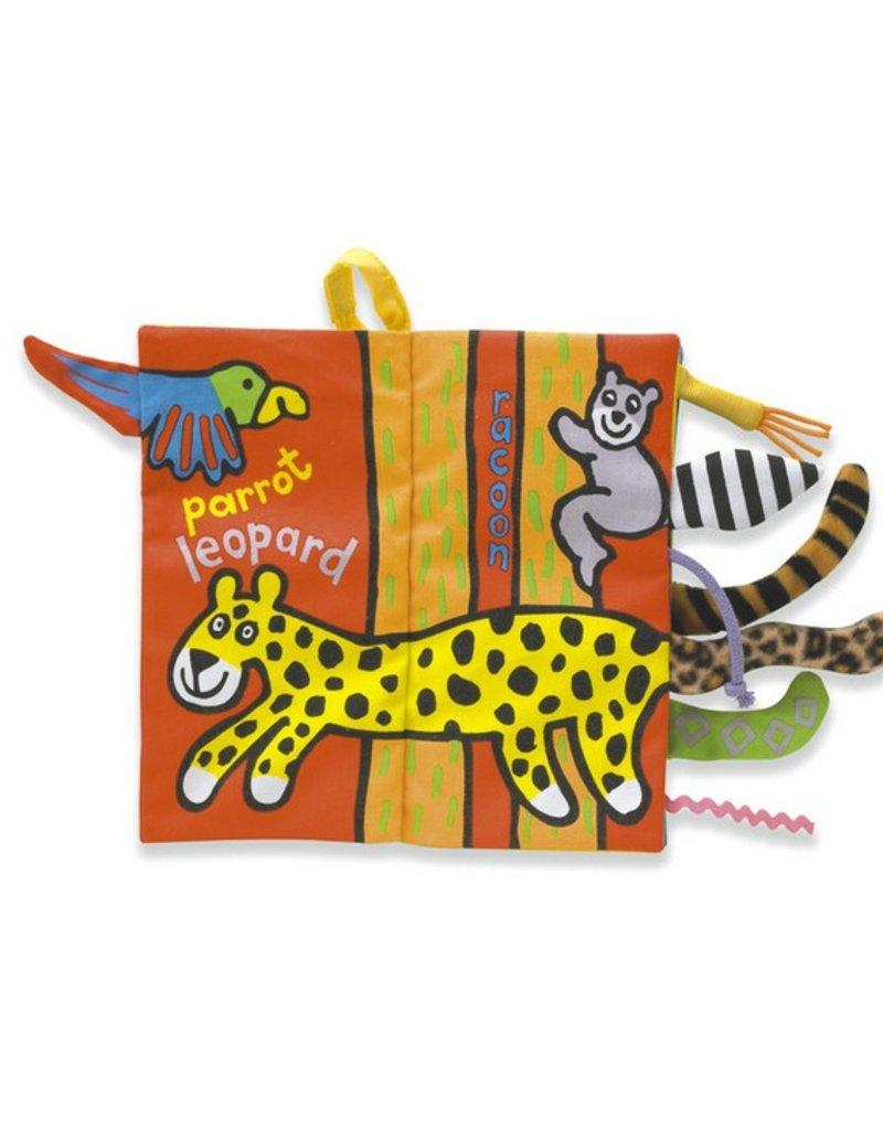 JellyCat JellyCat| Jungly Tails Soft Book