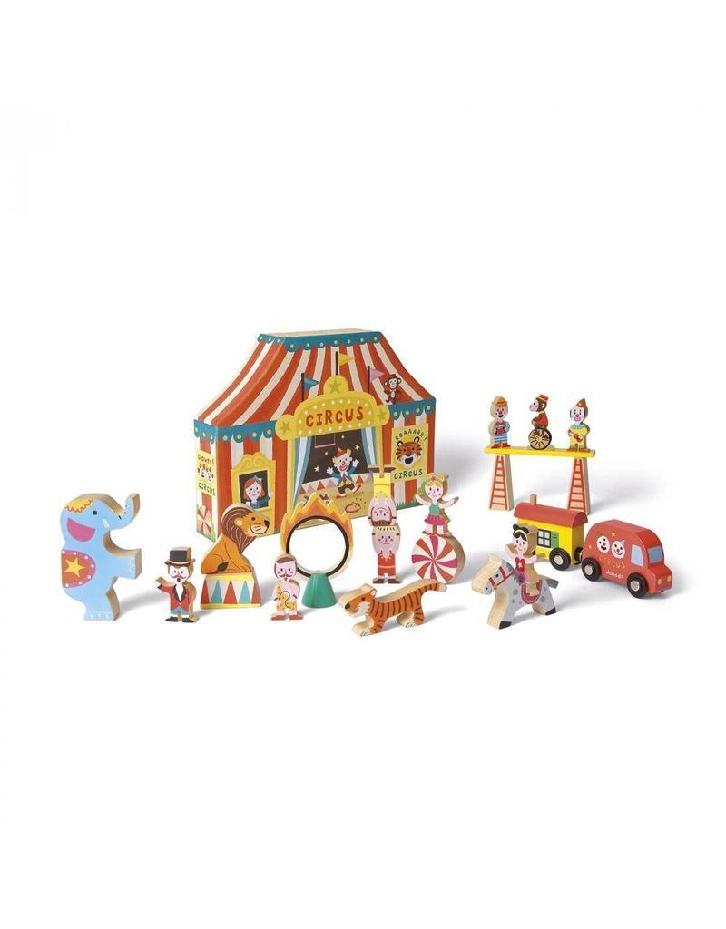 Janod Janod Story Box:  Circus