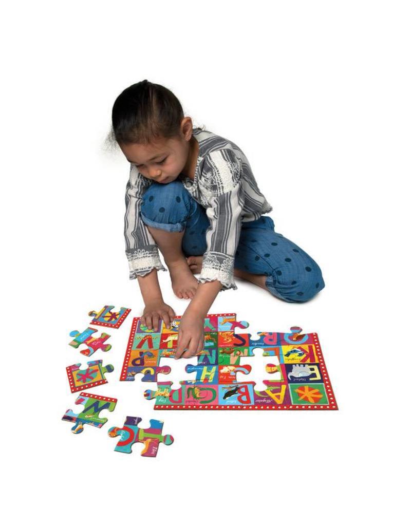 eeBoo Animal Alphabet 20 Piece Puzzle