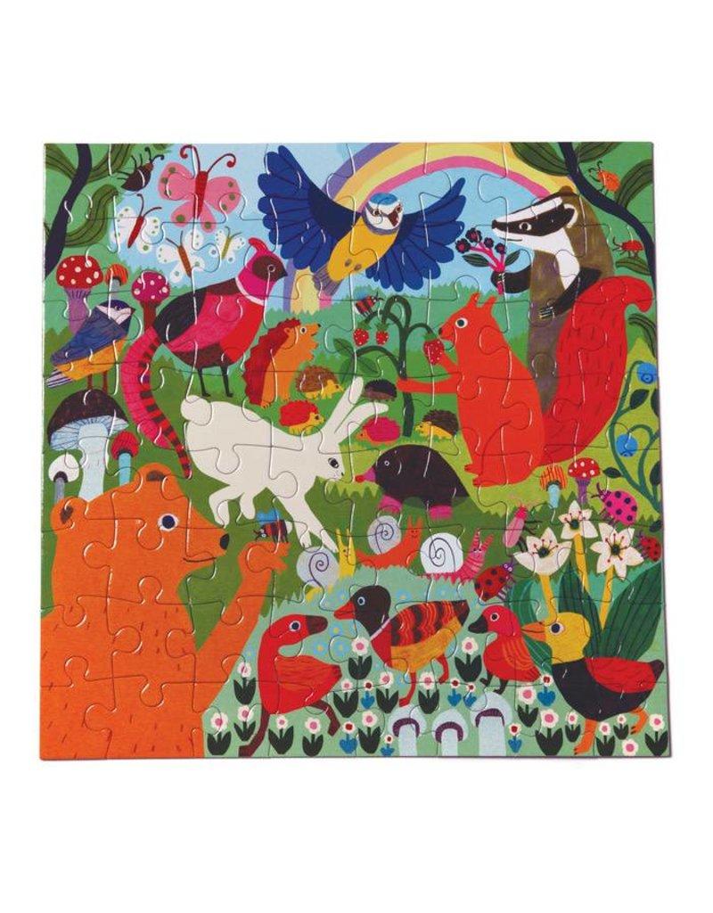 eeBoo eeboo | Busy Meadow 64 Piece Puzzle