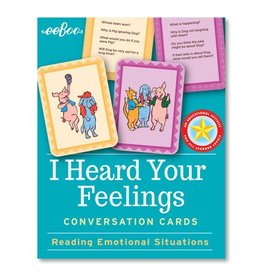 eeBoo eeboo | I Heard Your Feelings Flash Cards