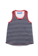 Stripe Racer Back Tank