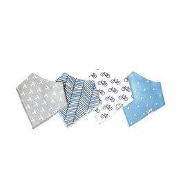 Copper Pearl Copper Pearl | 4-Pack Bandana Bib Set Cruise