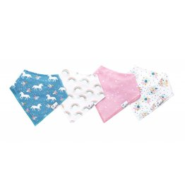 Copper Pearl Copper Pearl: 4-Pack Bandana Bib Set | Whimsy