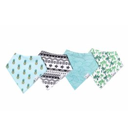 Copper Pearl Copper Pearl: 4-Pack Bandana Bib Set Maui