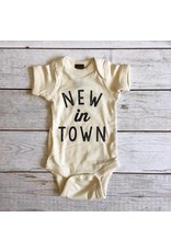 The Oyster's Pearl The Oyster's Pearl New In Town Onesie