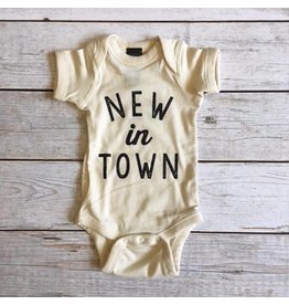 The Oyster's Pearl The Oyster's Pearl|New In Town Onesie