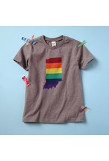 Sunday Afternoon Housewife:  Rainbow Indiana Tee