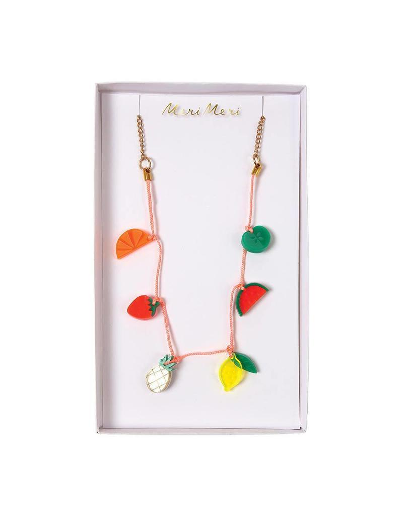 Meri Meri Meri Meri | Fruit Enamel Charm Necklace