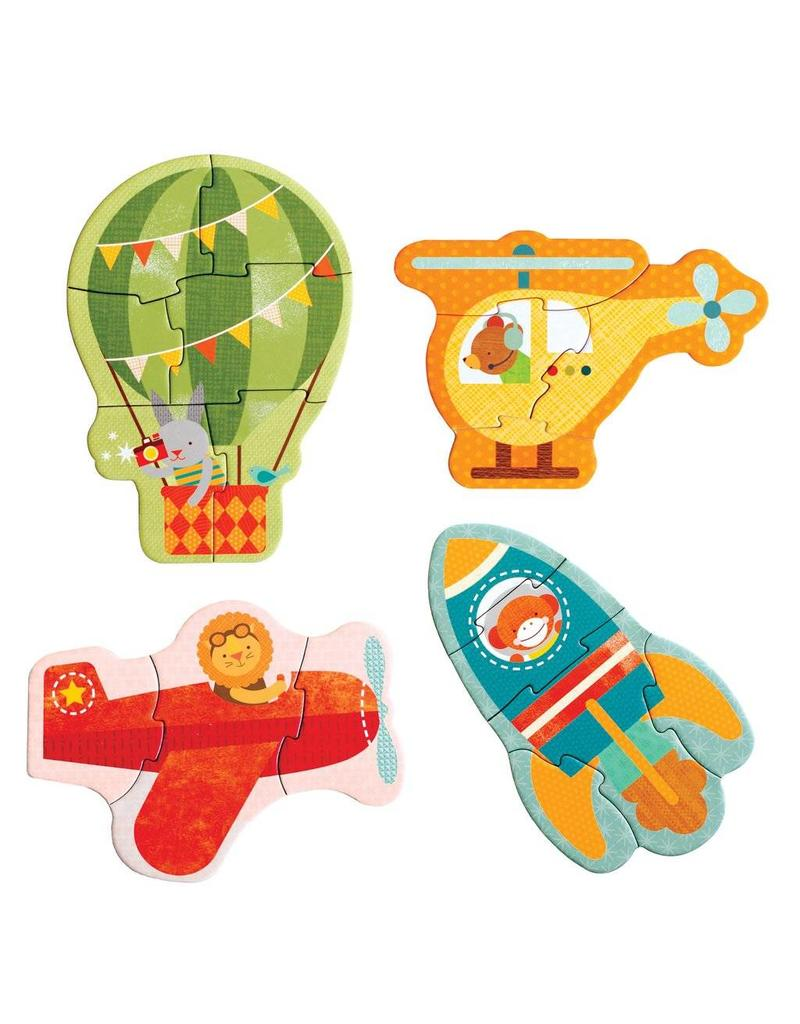 Petit Collage Petit Collage Beginner Puzzle: By Air
