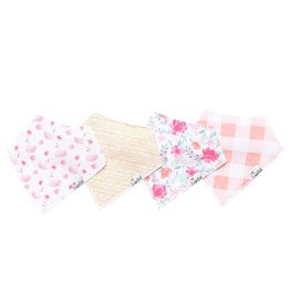 Copper Pearl Copper Pearl: 4-Pack Bandana Bib Set June