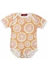 Milkbarn Kids Milkbarn | Grapefruit Bodysuit (Organic)