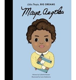 Quarto Little People, Big Dreams | Maya Angelou