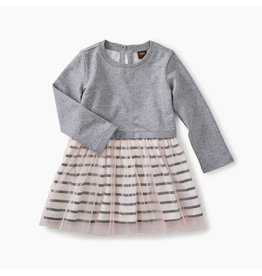 Tea Collection Tea Collection | Striped Tulle Baby Dress