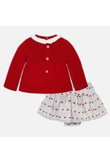 Mayoral Mayoral | Skirt & Sweater Baby Set