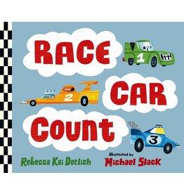 Race Car Count Board Book